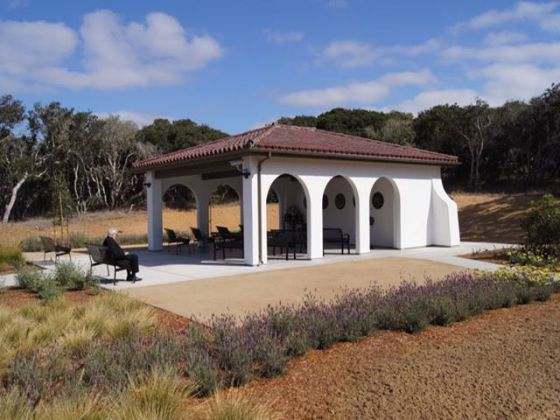 Committal Shelter - Central Coast Veterans Cemetery