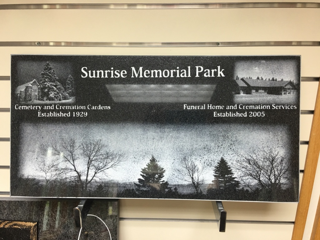Sand blasted pictures