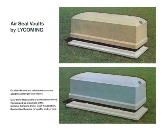Lycoming Vault - Top Seal - $ 1,524.40