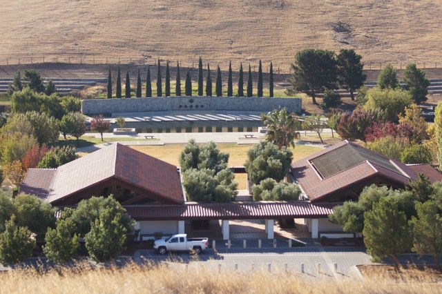 Admin Office and Assembly area San joaquin valley nat cemetery