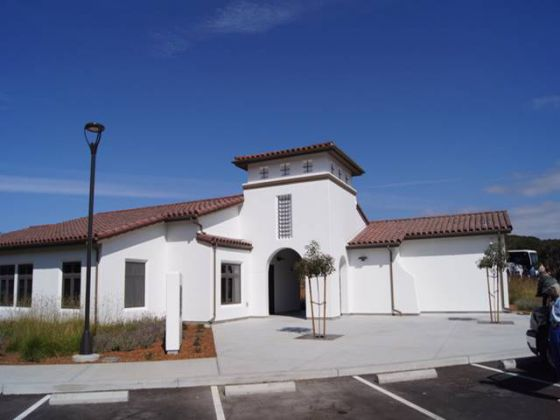 Administrative bldg at CA Central Coast Veterans Cemetery