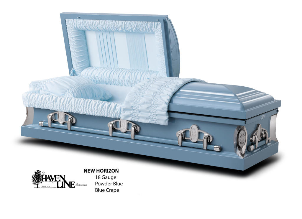 The New Horizon Blue 18 Ga. Steel