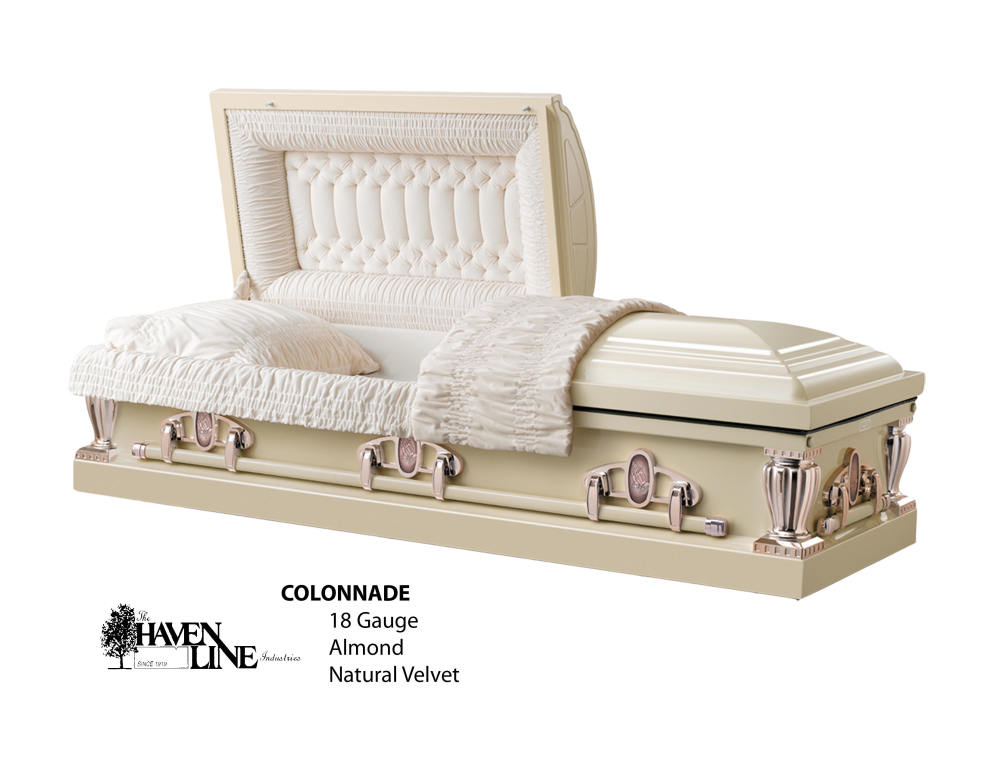 The Colonnade Almond 18 Ga. Steel