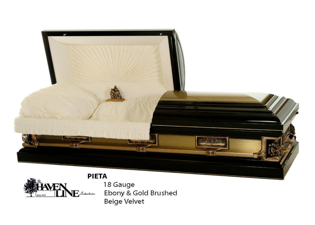The Pieta Ebony 18 Ga. Steel