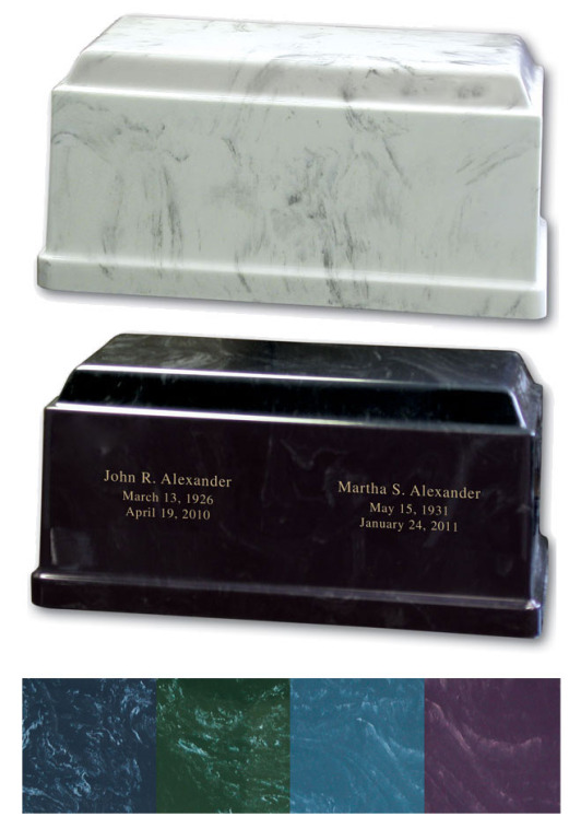 Companion Marble Urn 30-B-360