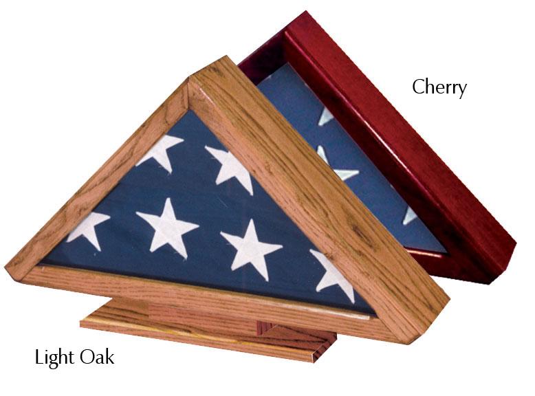 Standard Flag Case with Pedestal 92-011