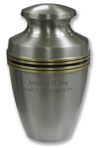 30-A-497 Pewter Grecian Urn