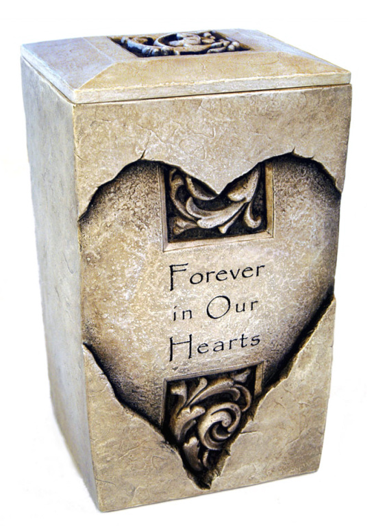 30-R-1002 Forever Hearts Urn