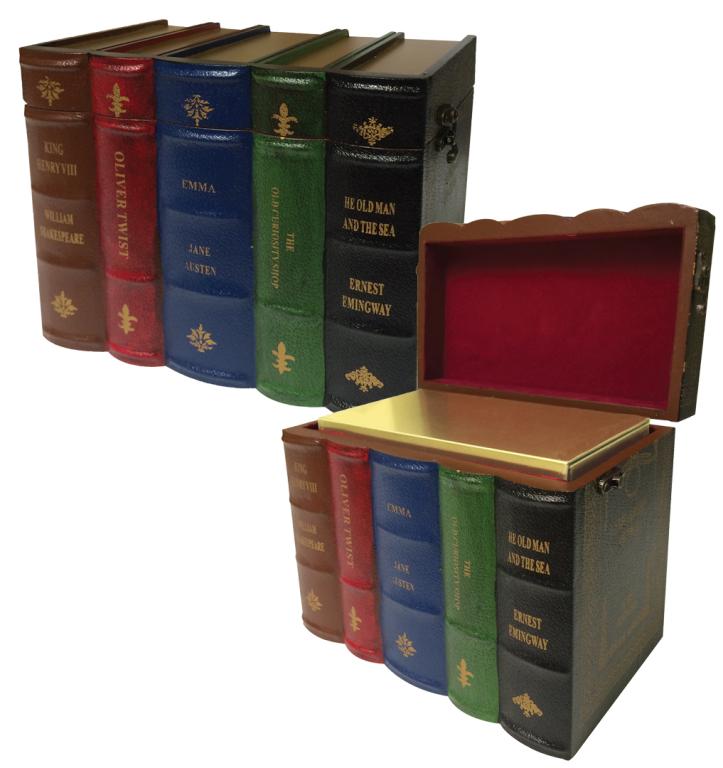 30-Y-013 Books Urn