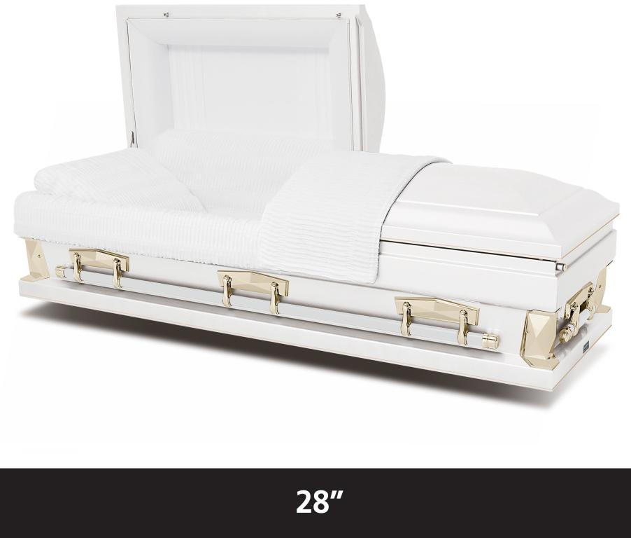 """Hercules White 28""""  $2,495"""