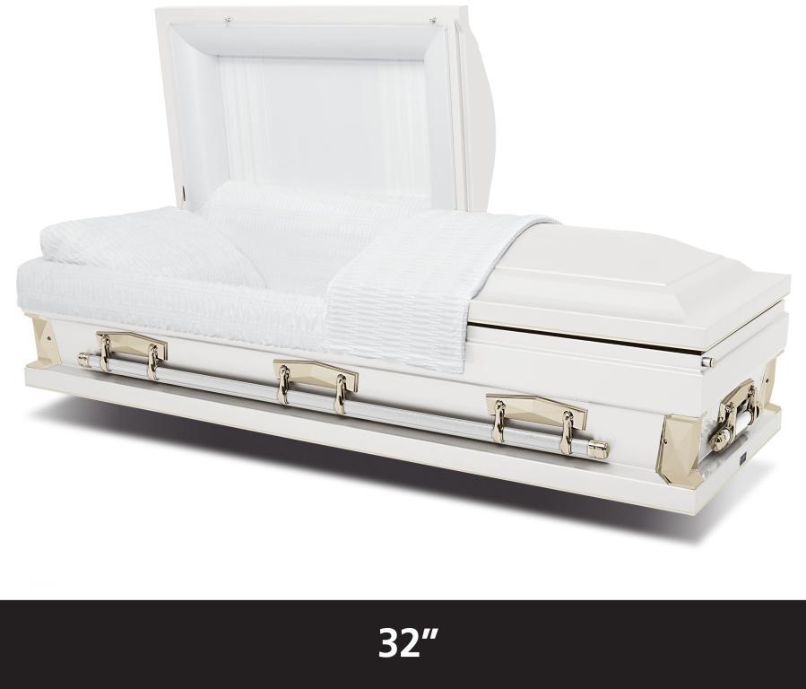 """Hercules White 32"""" $2,995"""