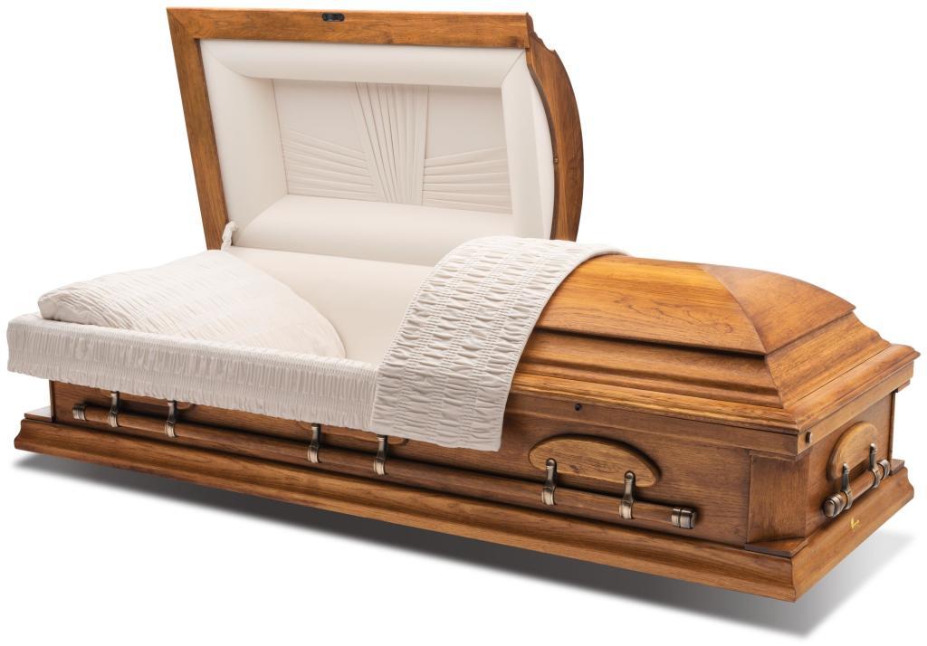 """Woodhaven Pecan 28"""" $3,995"""
