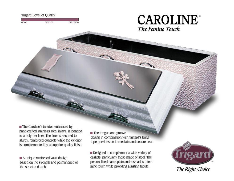Trigard Caroline Stainless Steel $2,595