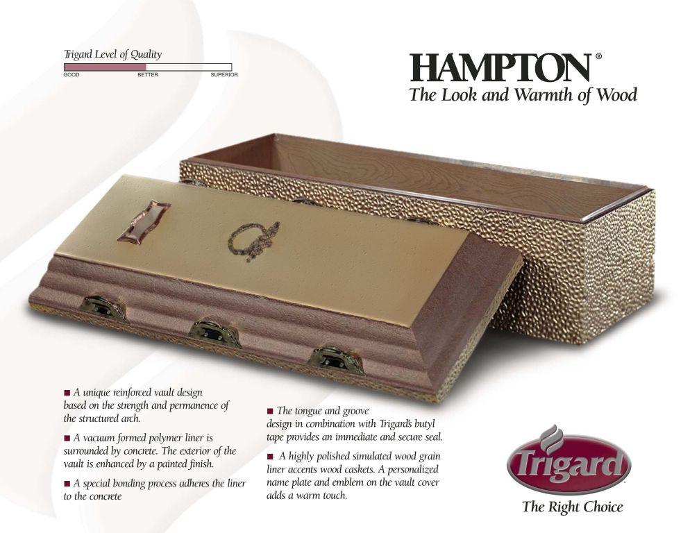 Trigard Hampton Woodgrain $1,495