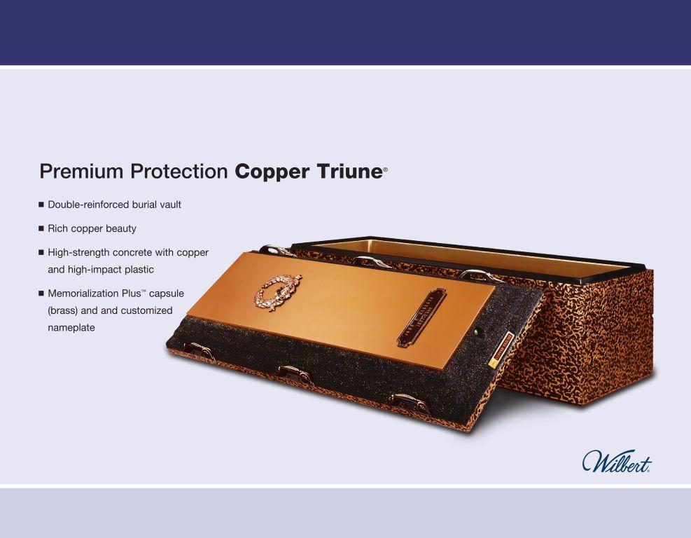 Copper Triune $3,095