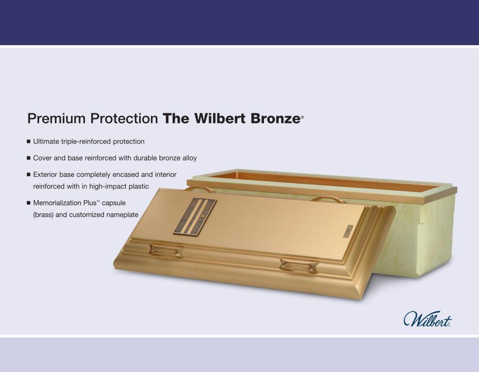 Wilbert Bronze $12,995