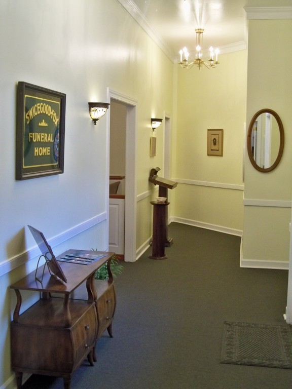 Foyer of the Chapel