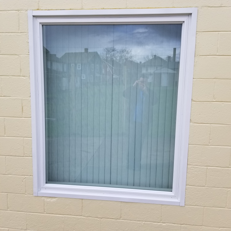 Drive Up Visitation Window with Speaker