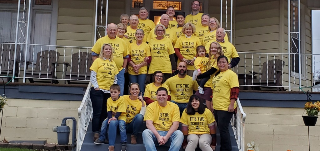 Schuetz Family  Thanksgiving