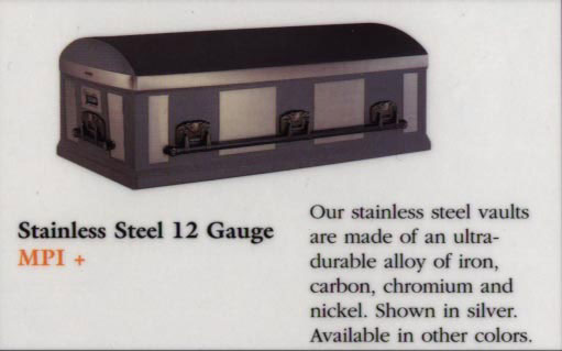 12 Gauge Stainless Steel Clark Vault