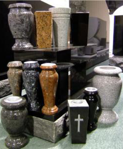 Sample vase selection