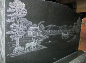 Custom etching