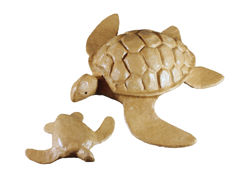 Adult Turtle with Mini Urns