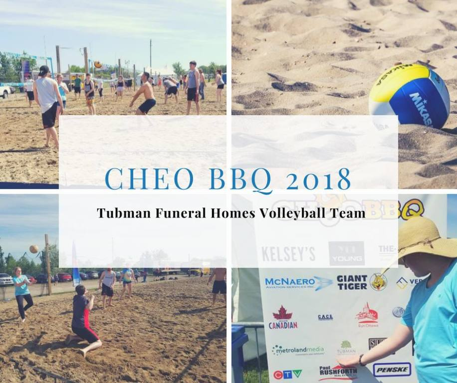 2018 CHEO BBQ Beach Volleyball