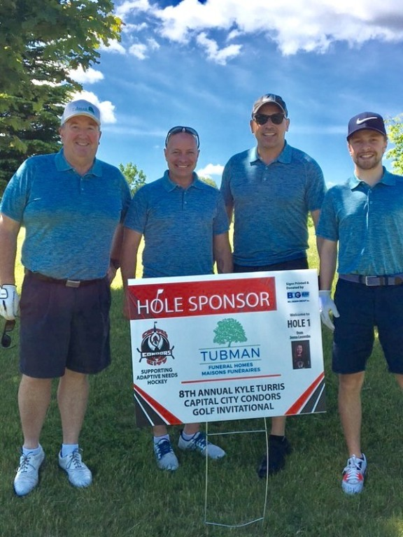 2019 Capital City Condors Tournament, Steve O'Keefe, Bruno Carchidi, Jean Vaillancourt, Devin Carchidi