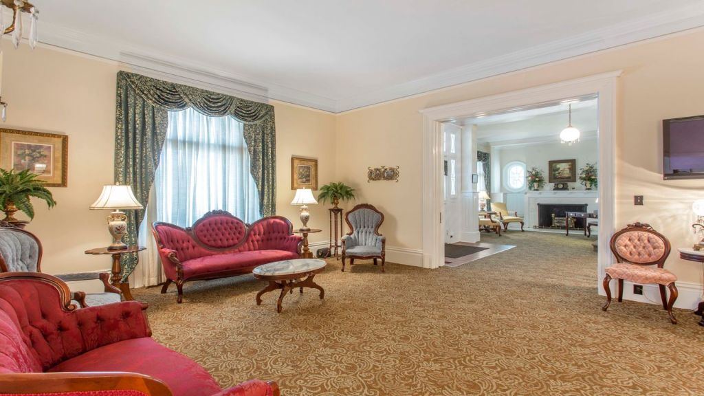 Interior rooms at Thompson-Strickland-Waters Funeral Home