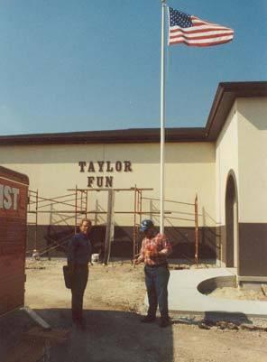 Jim  Jerry Dugal Paul's twin sons checking progress