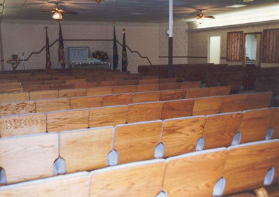 Main Chapel, Seating Capacity - 200