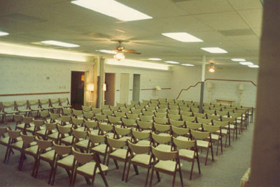 Additional Chapel - Seating Capacity, 175
