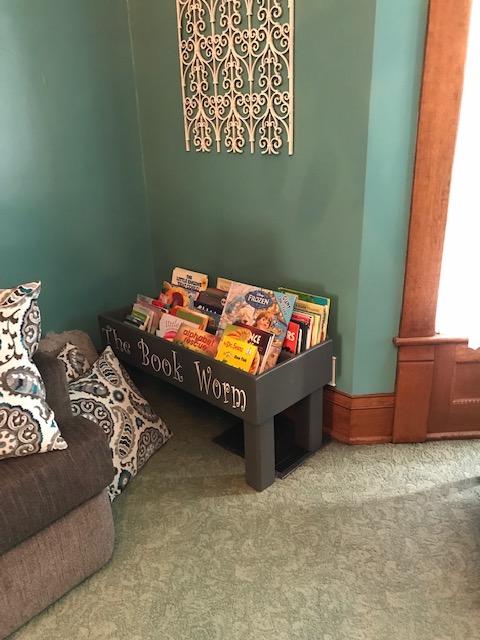 Book Nook in Kid's Room