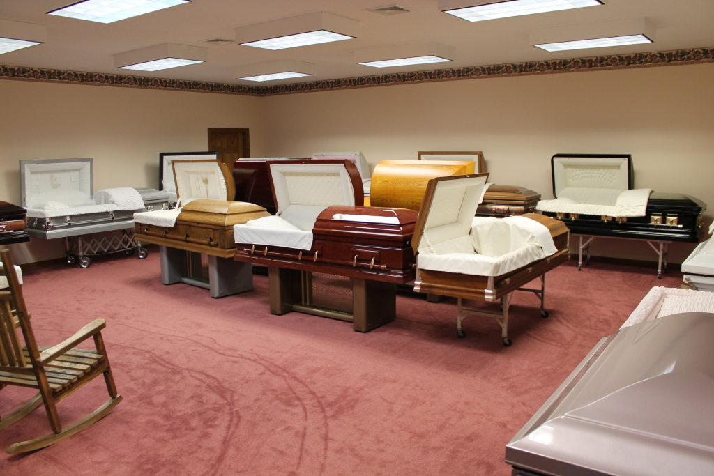 Casket Display Area