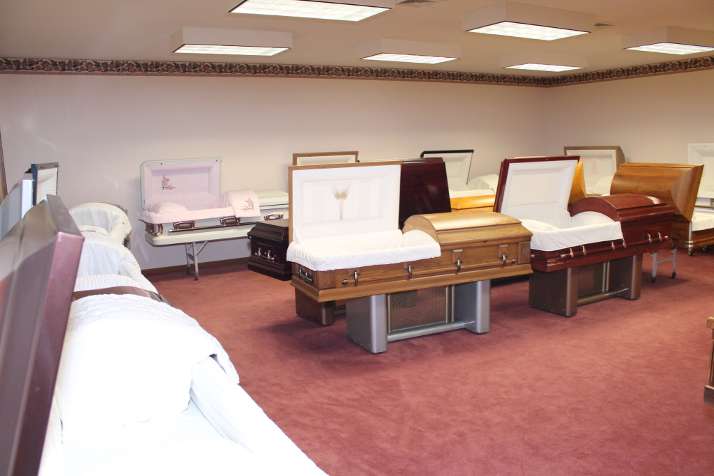 Showroom - Casket Display Area
