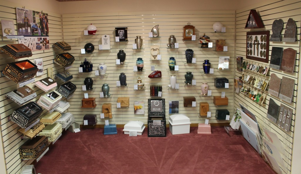 Urn & Vault Display Area