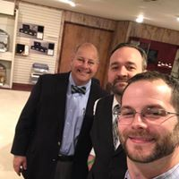 Brian and Ryan with David Hicks from Pierce Chemical
