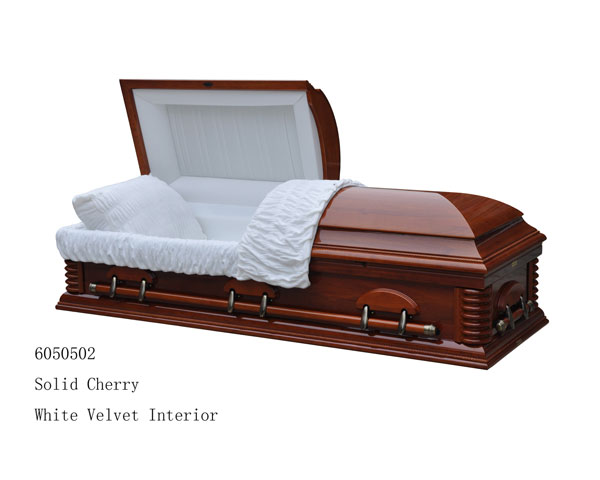 Solid Cherry Casket - 3,200.00