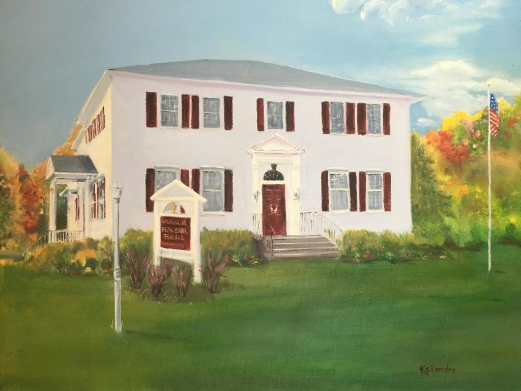Painting of Varnum Funeral Home