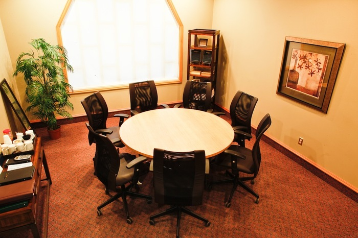 Meeting and planning area