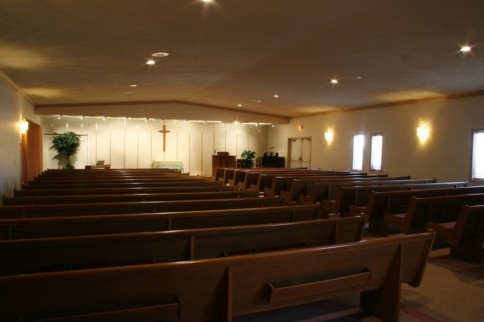 Interior view of our chapel
