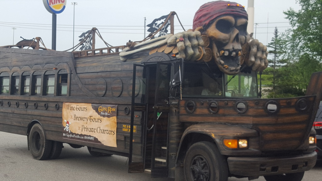 Gypsy Rose Pirate Bus