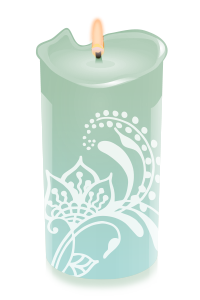 candle lilly
