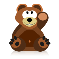 gesture bear
