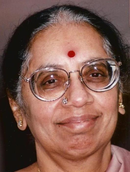 Obituary For Shyamala Krishnan Viswanathan