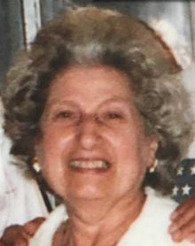 Obituary For Olga Vangel Thanas
