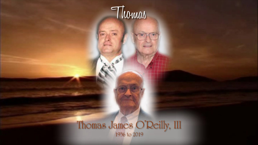 Obituary for Thomas James O'Reilly, III | Kenworthy Funeral