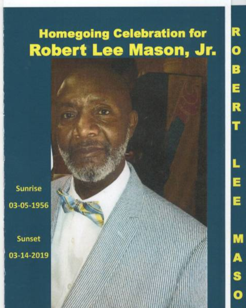 Obituary for Robert Lee Mason, Jr  | A L  Spaulding-Barnes
