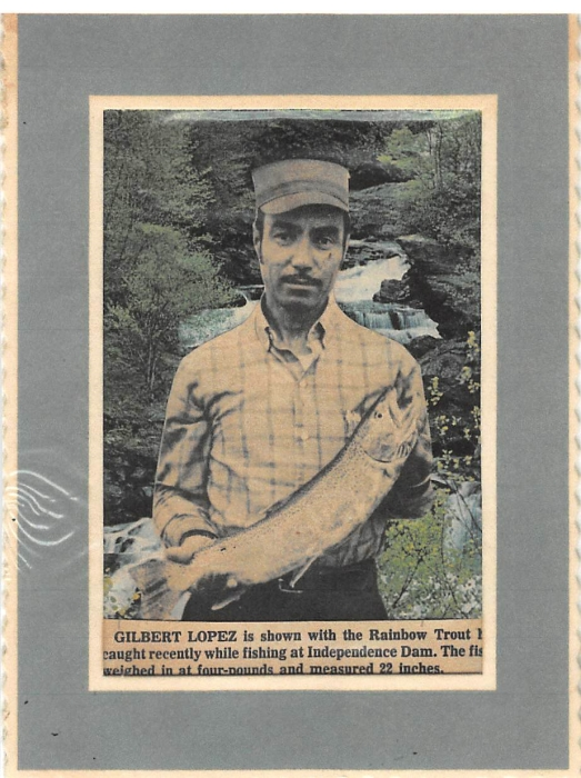 Obituary For Gilbert Sandoval Lopez Charlie Marshall